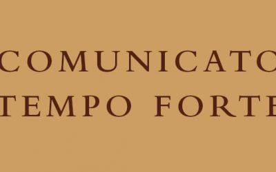 Communique from the General Definitory – Tempo Forte of September 2019