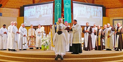 Father Joe completes long journey to priesthood | Christ the King Province