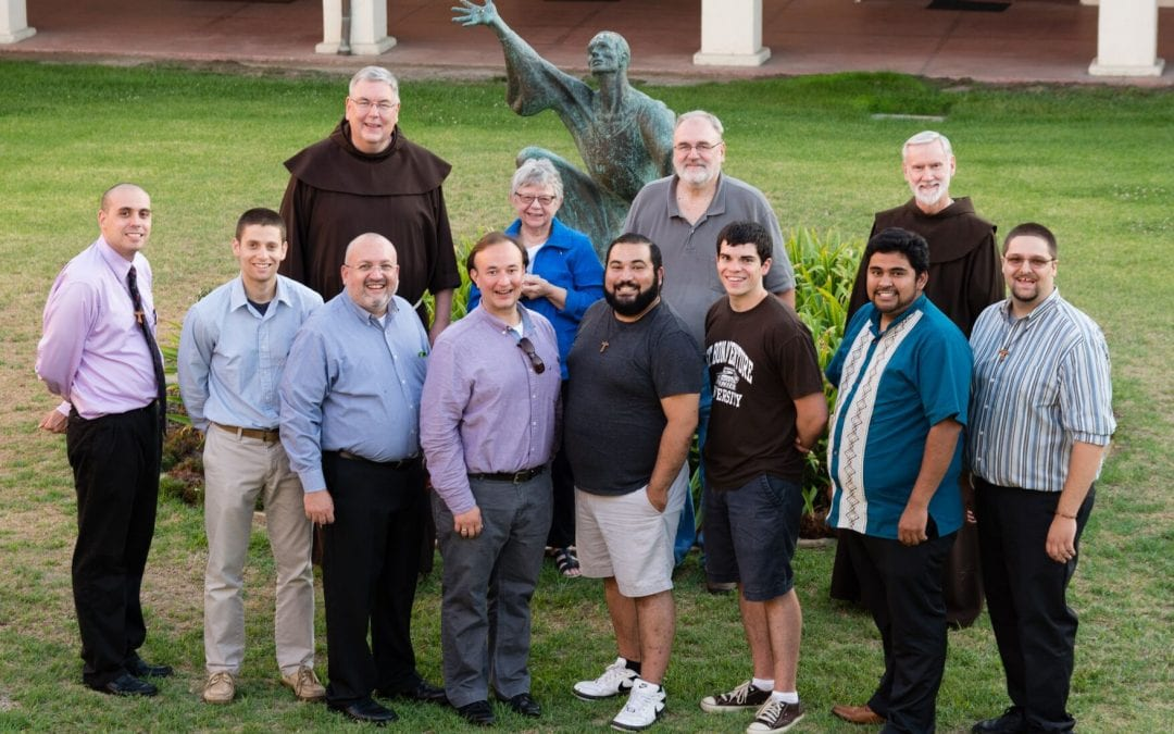 Eight Men Enter Franciscan Novitiate