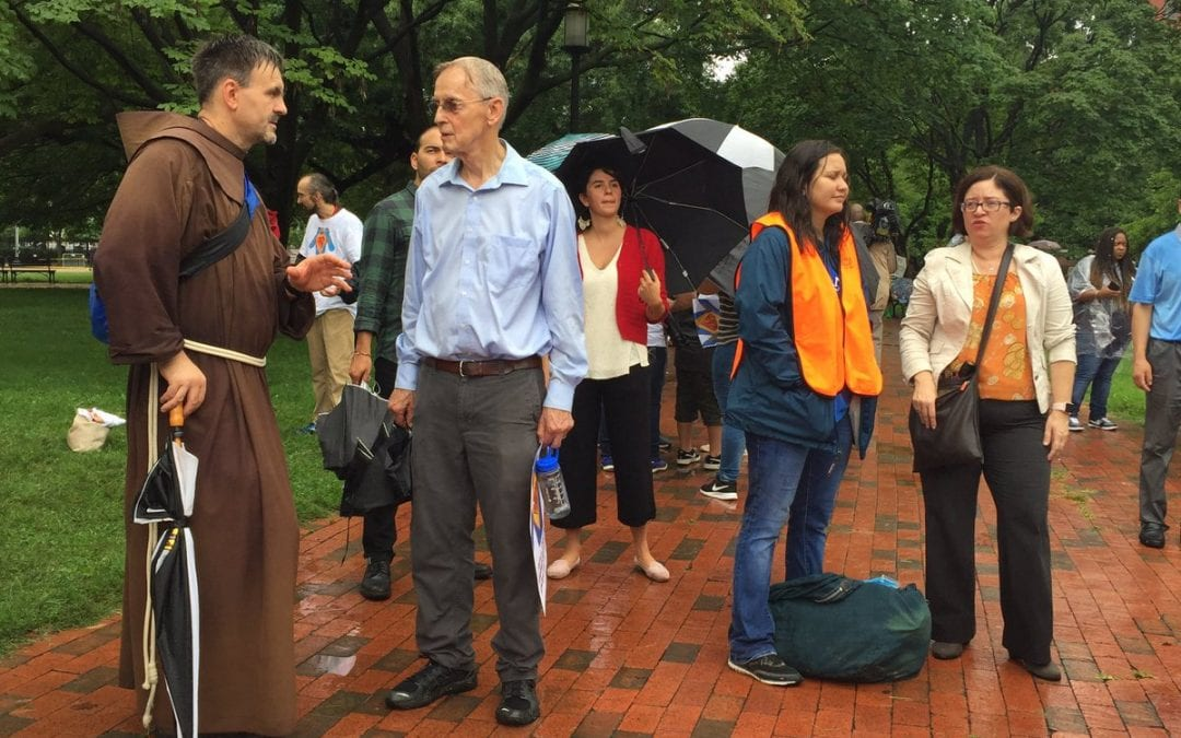 US Franciscans Protest DACA Rescission