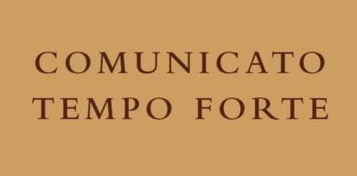 Communique from the General Definitory – Tempo Forte of November 2019