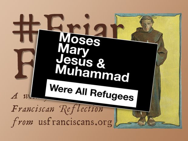 #FriarFriday – Refugees All