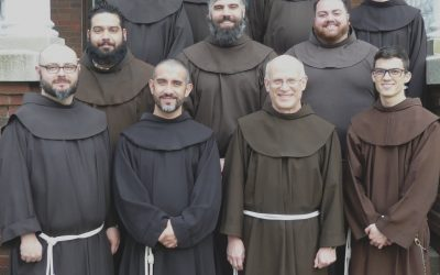 Simply Professed Friars Renew Vows