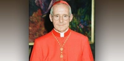 Statement of the Order of Friars Minor on the Passing of Cardinal Jean-Louis Tauran
