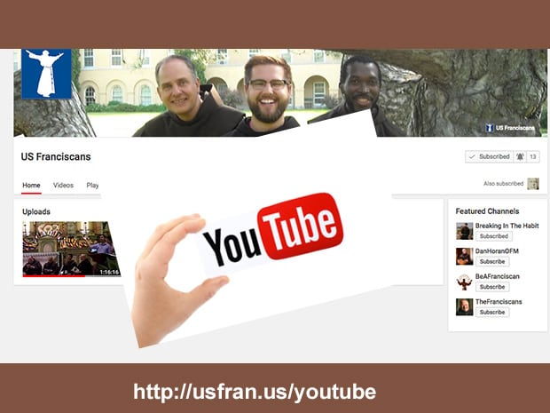 New US Franciscans YouTube Channel