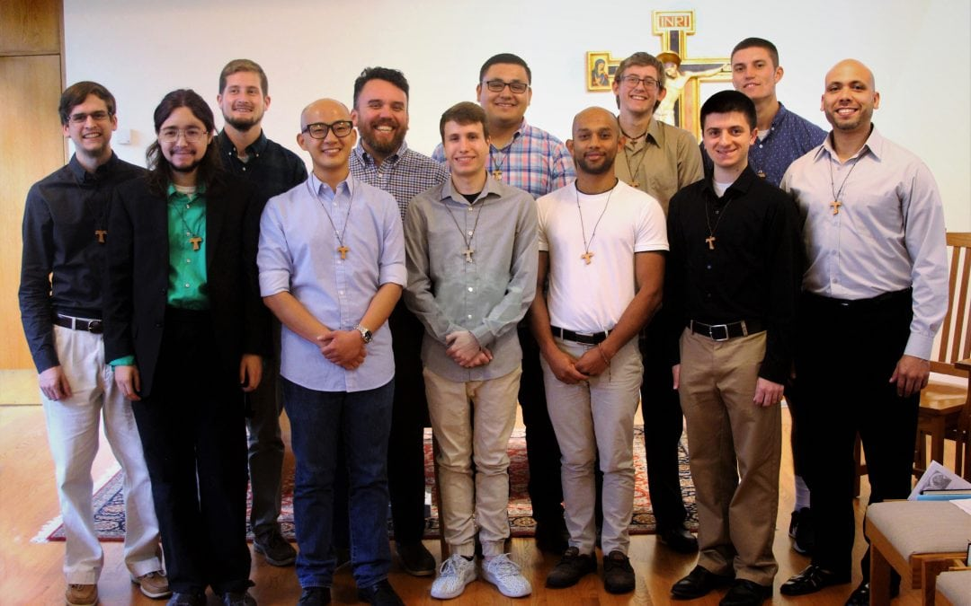 12 Men Join the Franciscans
