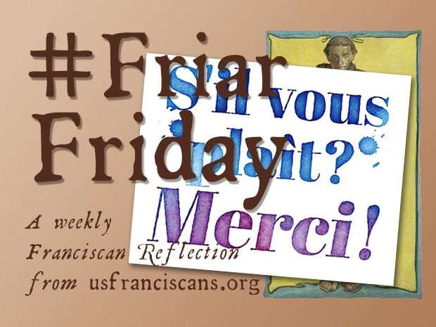 #FriarFriday – It is Right and Just