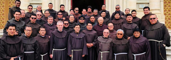Visit of the Minister General to the St Francis Province of Quito, Ecuador