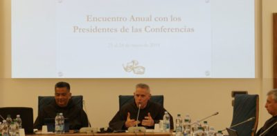 Proclaim the Gospel & Offer Peace | Homily at the Beginning of the Meeting with Presidents of Conferences