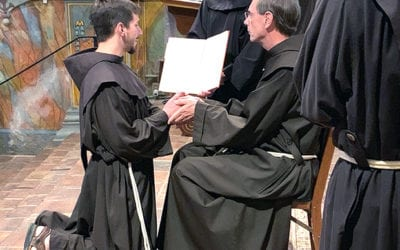 Ten Men Profess First Vows as Franciscan Friars