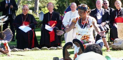 Pope Francis emphasizes solidarity with indigenous leaders ahead of Amazon Synod