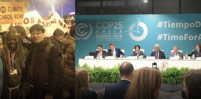 Participation in COP25, Madrid