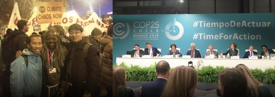 Participation in COP25, Madrid